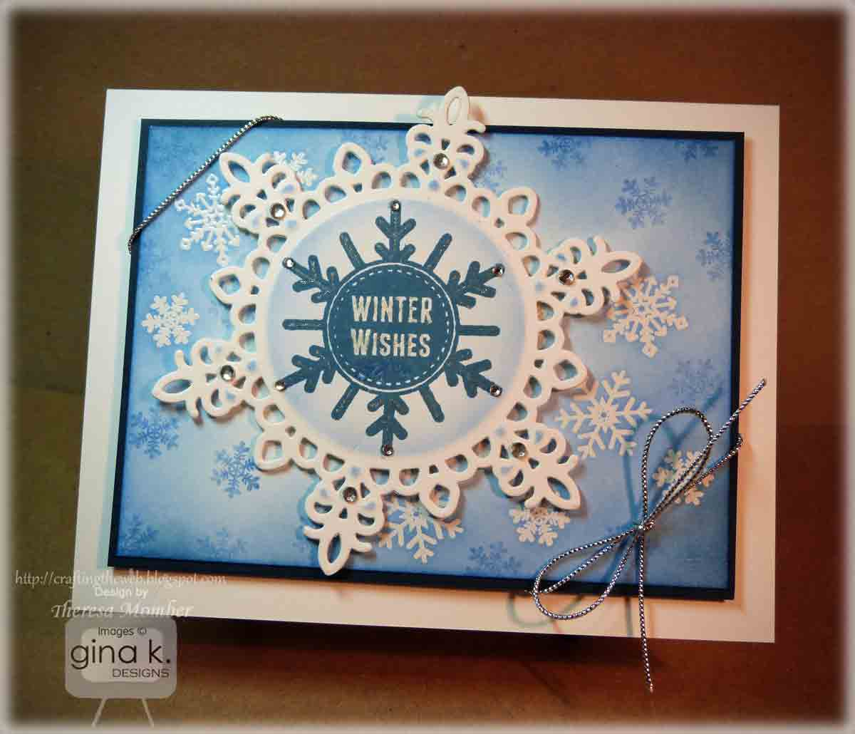 Crafting The Web Gina K October Release Inspiration Hop Day 2