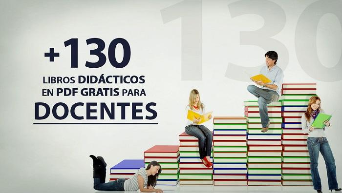 130 libros didácticos en PDF para docentes | Oye Juanjo!