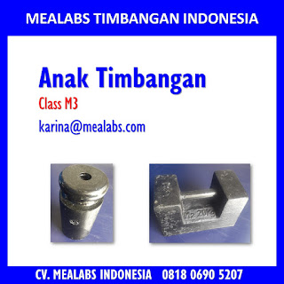 Jual Anak Timbangan Class M3 Mealabs Timbangan Indonesia