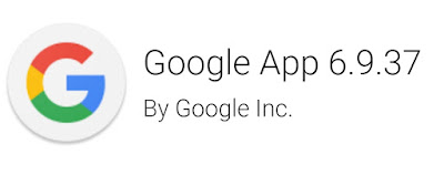 Google App v6.9 Apk To Download with New App Look and Feel