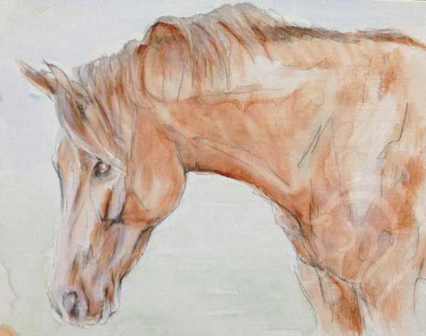 equine art uk, abstract equine art, abstract equestrian art