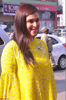 Mannara Chopra Looks Cute in Yellow Salwar Suit ~  Exclusive 54.JPG