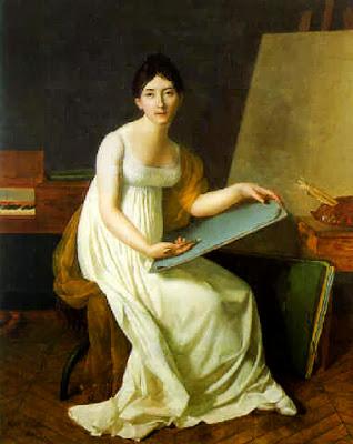 Autoportrait (1801), Henriette Lorimier