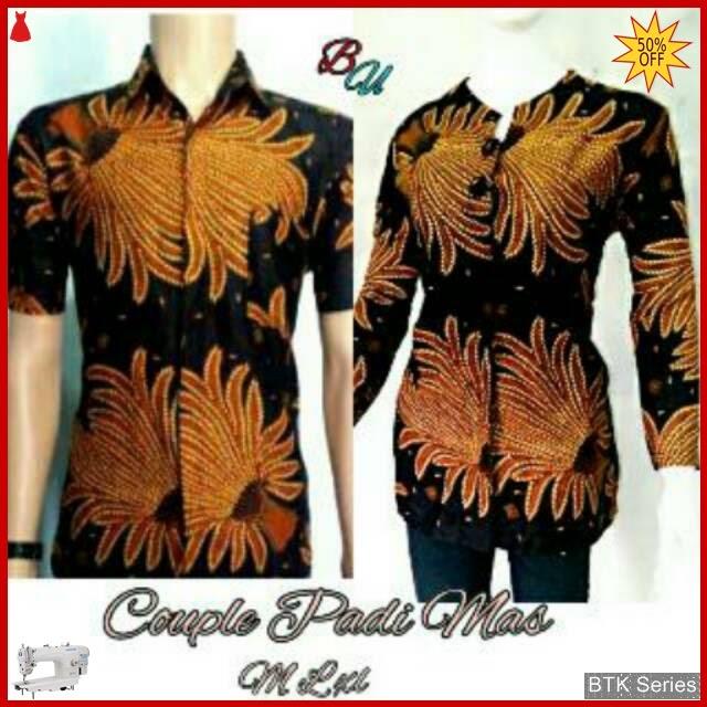BTK126 Baju Batik Couple Padimas Modis Murah BMGShop