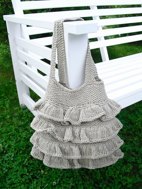 Bag with Flounces - Free Pattern