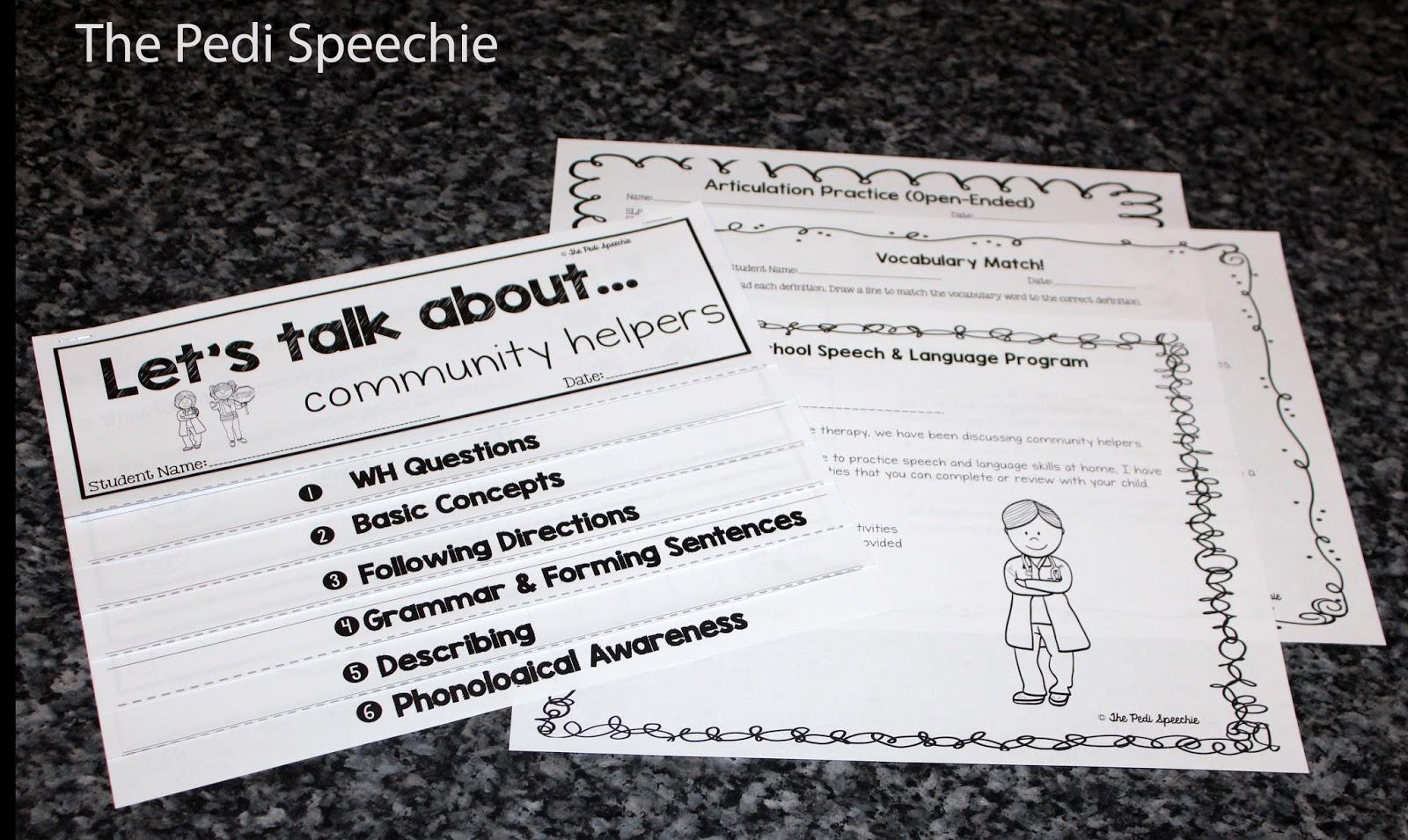 Preschool Speech Therapy