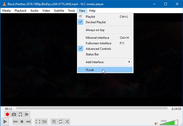 كيفية تنزيل ترجمات في مشغل وسائط VLC