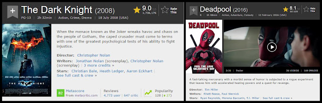 rating film imdb