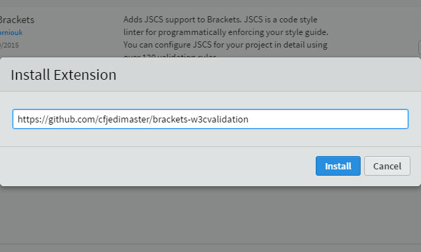 DesignEasy: How to Manually Install Extension in Brackets