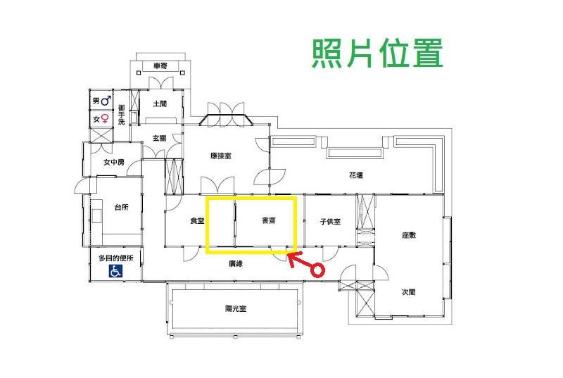 管理員: 青田七六 No.6. Ln.7. Qingtian St (馬廷英故居)
