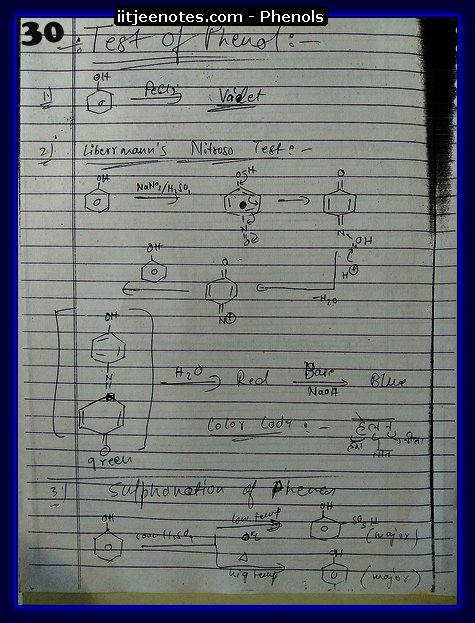 Phenol Notes 16