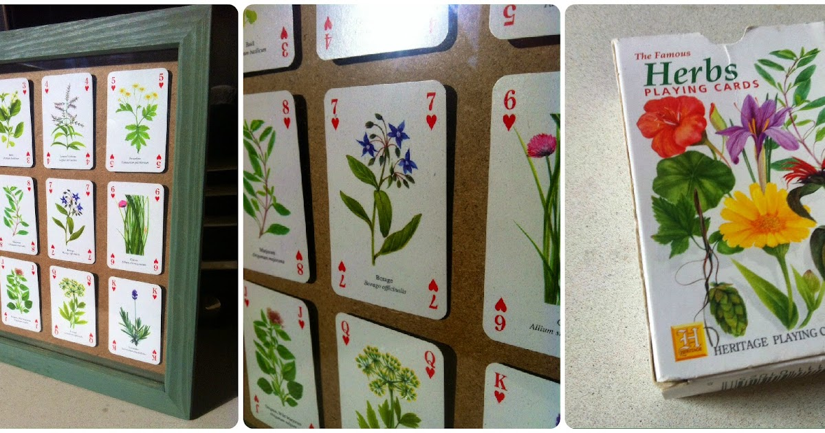 House Of Newns Diy Deck Of Cards Wall Art