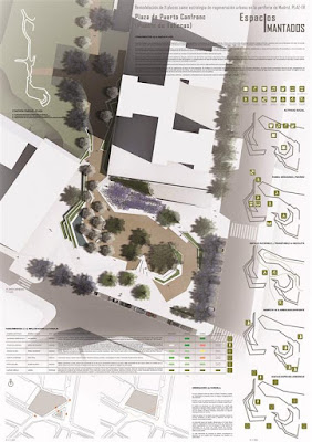 Láminas de concurso de arquitectura