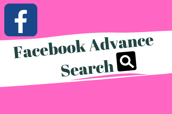 Facebook Advance Search