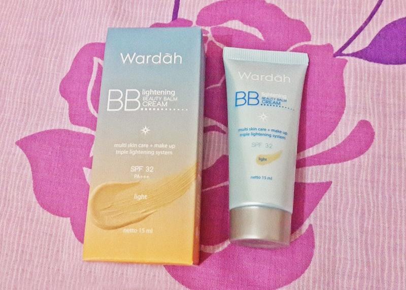 Wardah BB Lightening Beauty Balm Cream Produk Wardah Untuk Bekas Jerawat