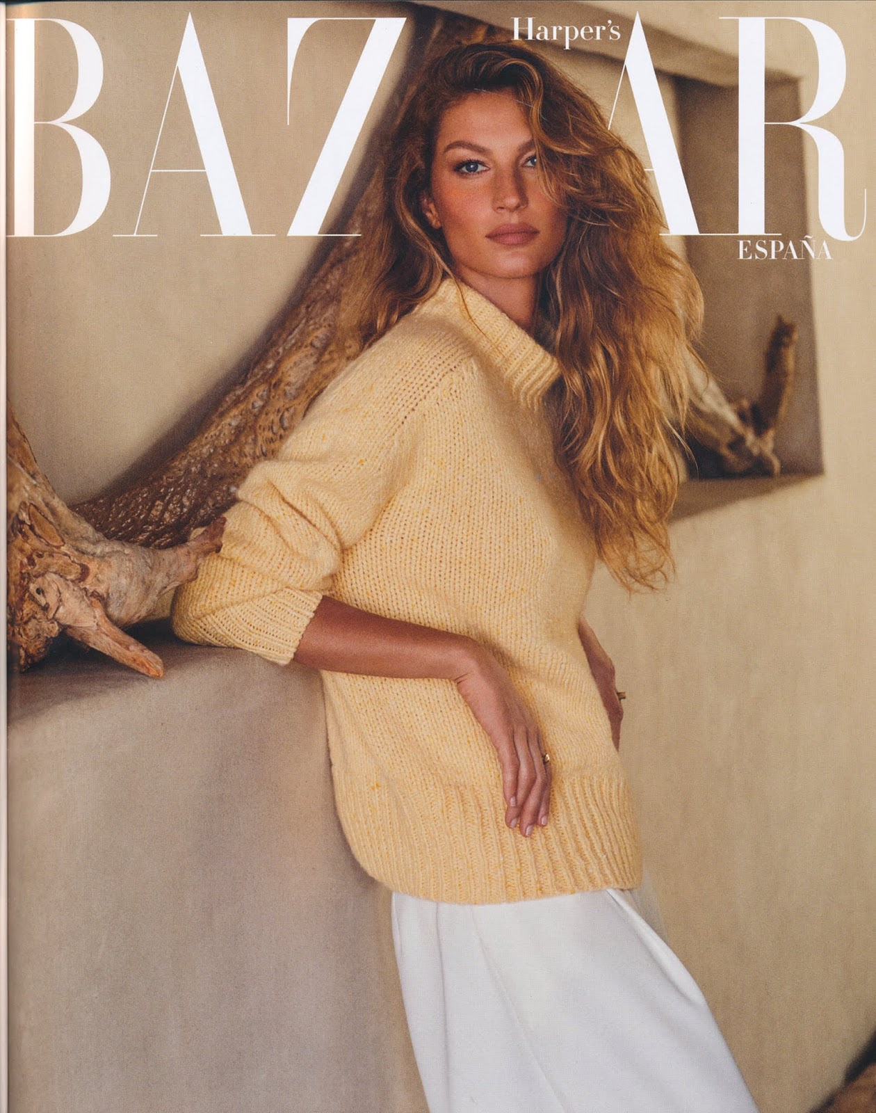 Gisele Bundchen - Harper's Bazaar Spain January 2019