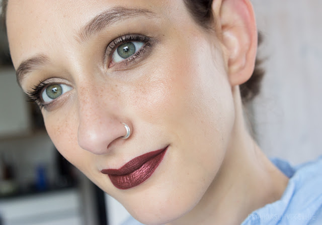 liquid lipstick matte metallic milani matterialistic jeffree star unicorn blood makeup look
