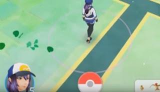 Arti dari Footstep Screen pada Pokemon Go