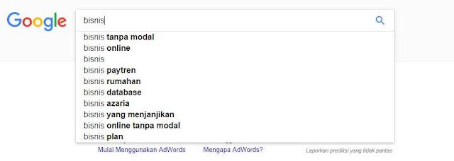 Riset Kata Kunci di Halaman Pencarian Google | SEOBlogid