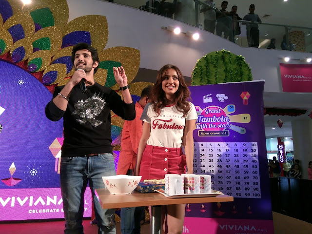 Starcast of Tum Bin 2 at Viviana Mall