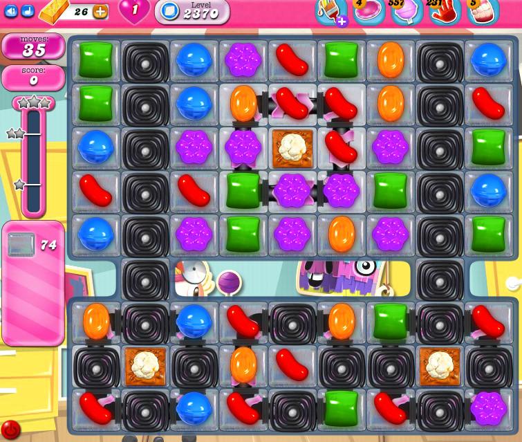 Candy Crush Saga level 2370
