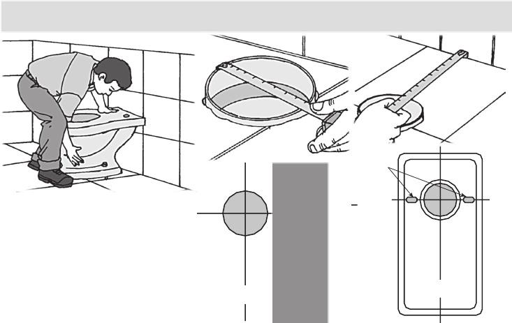 Como hacer una instalaci n de inodoro manuales de como for Medidas de un inodoro