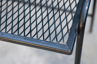 Heygreenie Vintage Wire Mesh Patio Side Table Es Sold