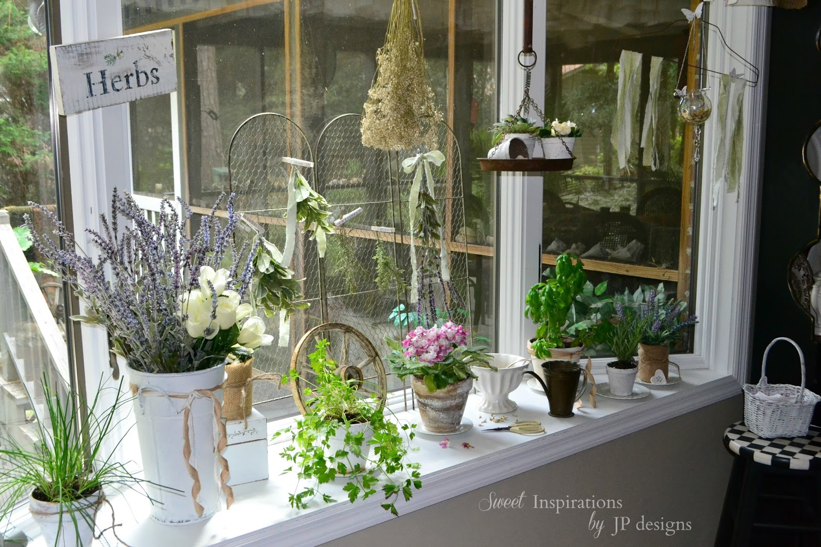Sweet Inspirations By Jp Designs My Kitchen Window Herb
