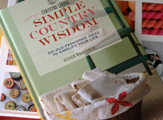 simple country wisdom book