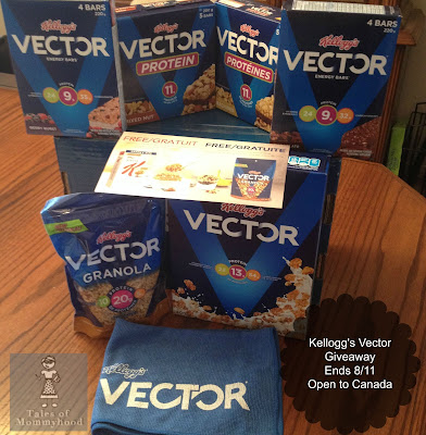 kellogg's vector giveaway, kelloggs, vector, fuel your summer