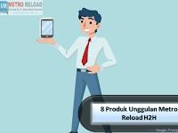 8 Produk Unggulan Metro Reload H2H