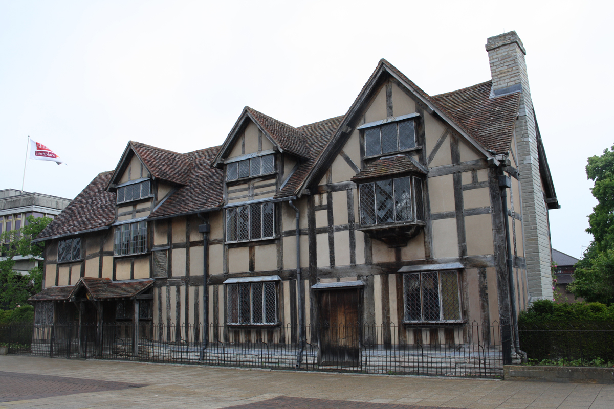 William Shakespeares Early Days Were Probably Spent At John And Mary Henley Street House In Stratford Upon Avon This May Be The