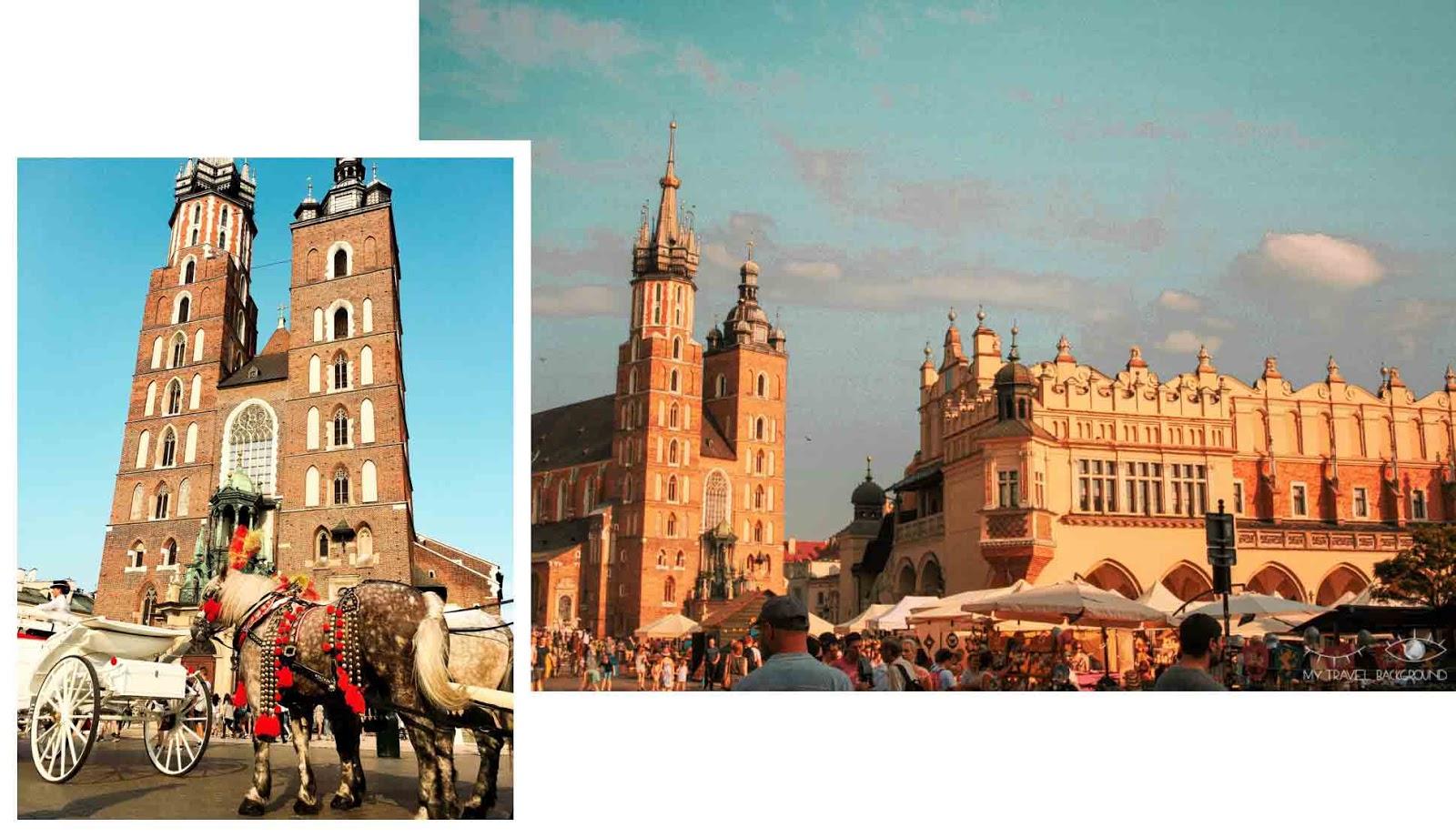 My Travel Background : Cracovie en Pologne, mon top 10 pour visiter la ville - Rynek Glowny, Basilique Sainte Marie