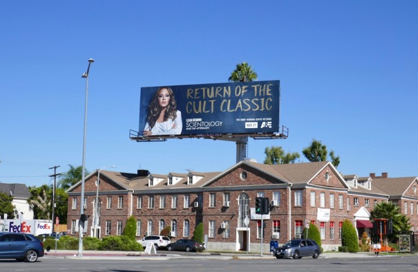 Leah Remini Scientology Aftermath 3 billboard