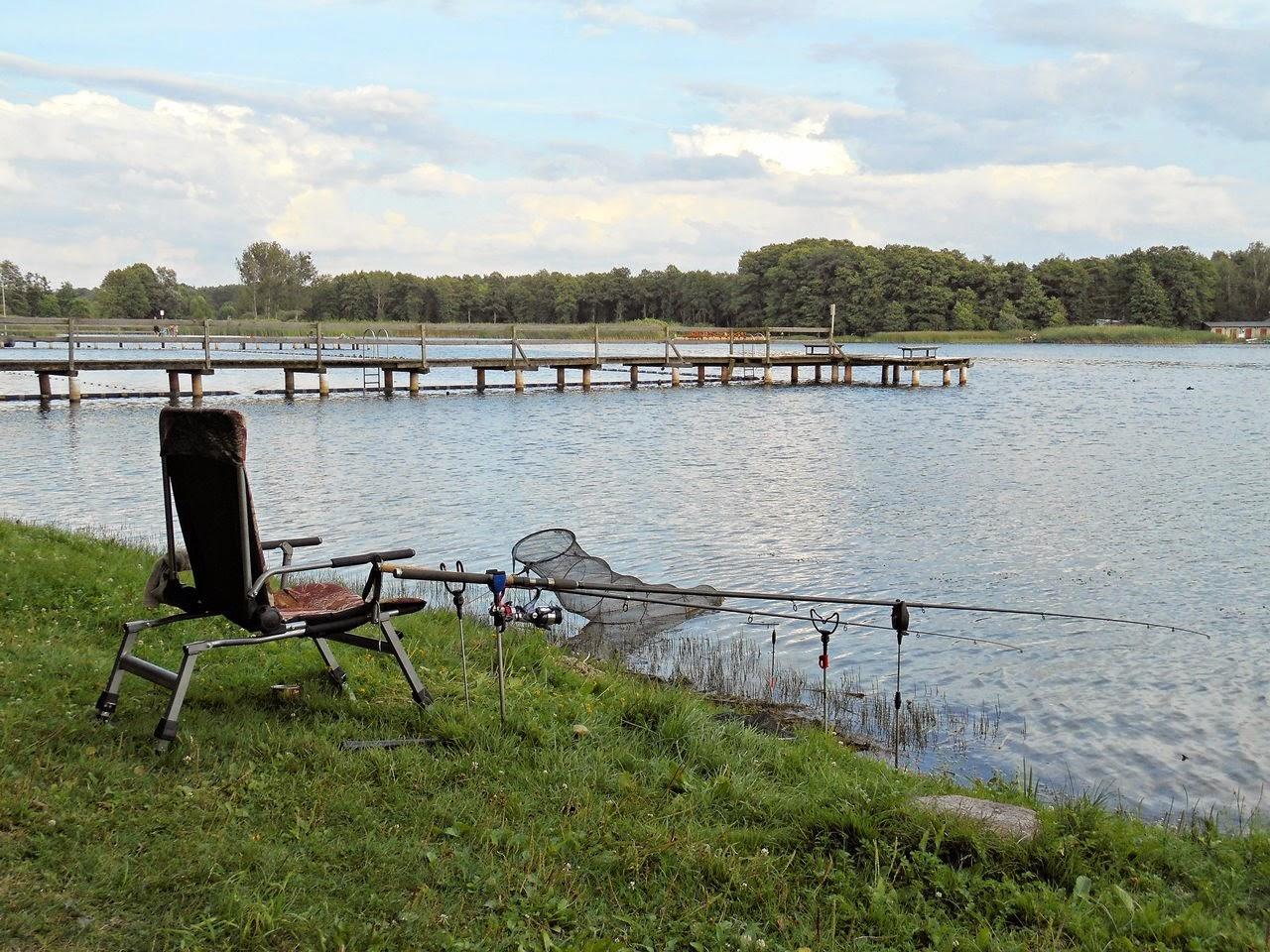 wędkarstwo, woda, jezioro lubuskie