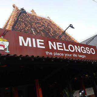 Mie Nelongso Kediri