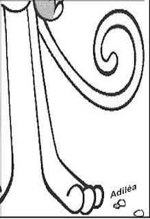 Cartaz da mascote Vinícius para colorir