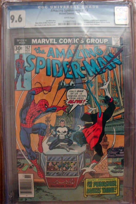 http://www.totalcomicmayhem.com/2014/04/amazing-spider-man-162-cgc-96.html