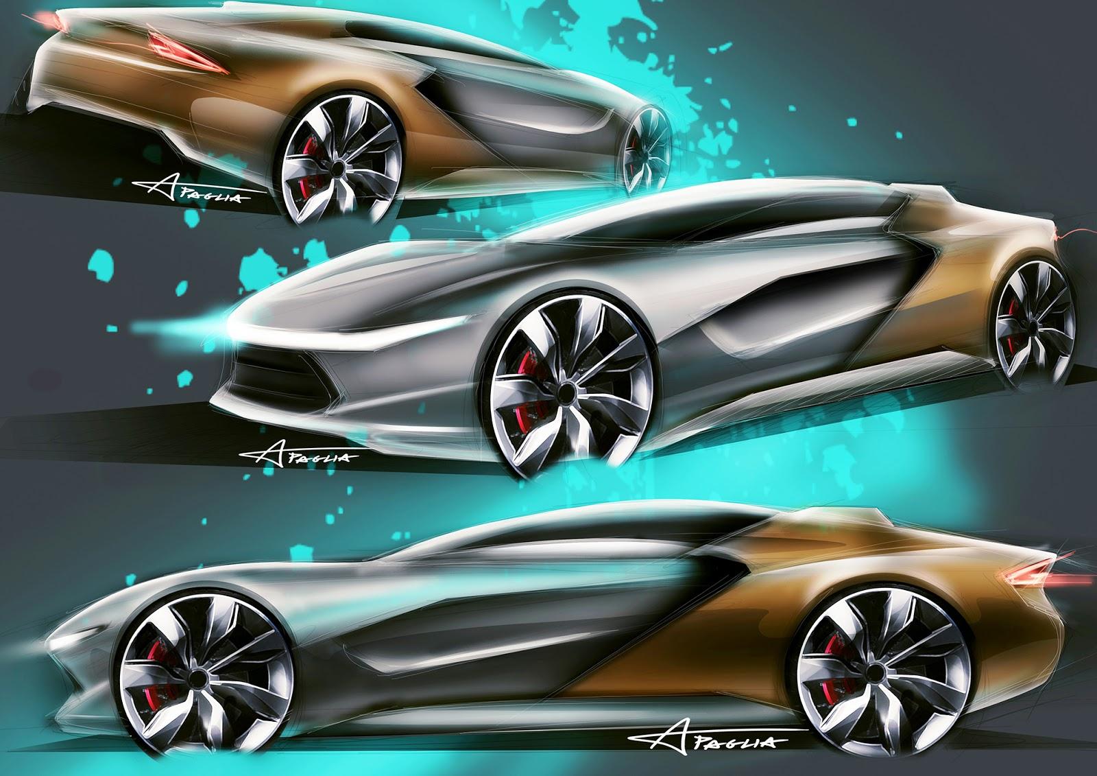 Ap Design Concept Car Sketch