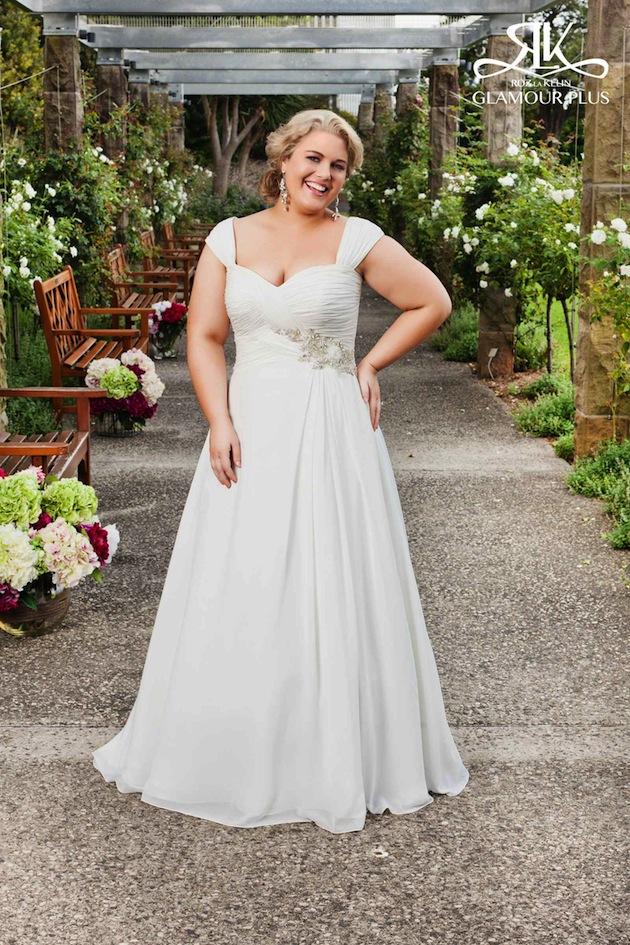 Vestidos novia gorditas 2019