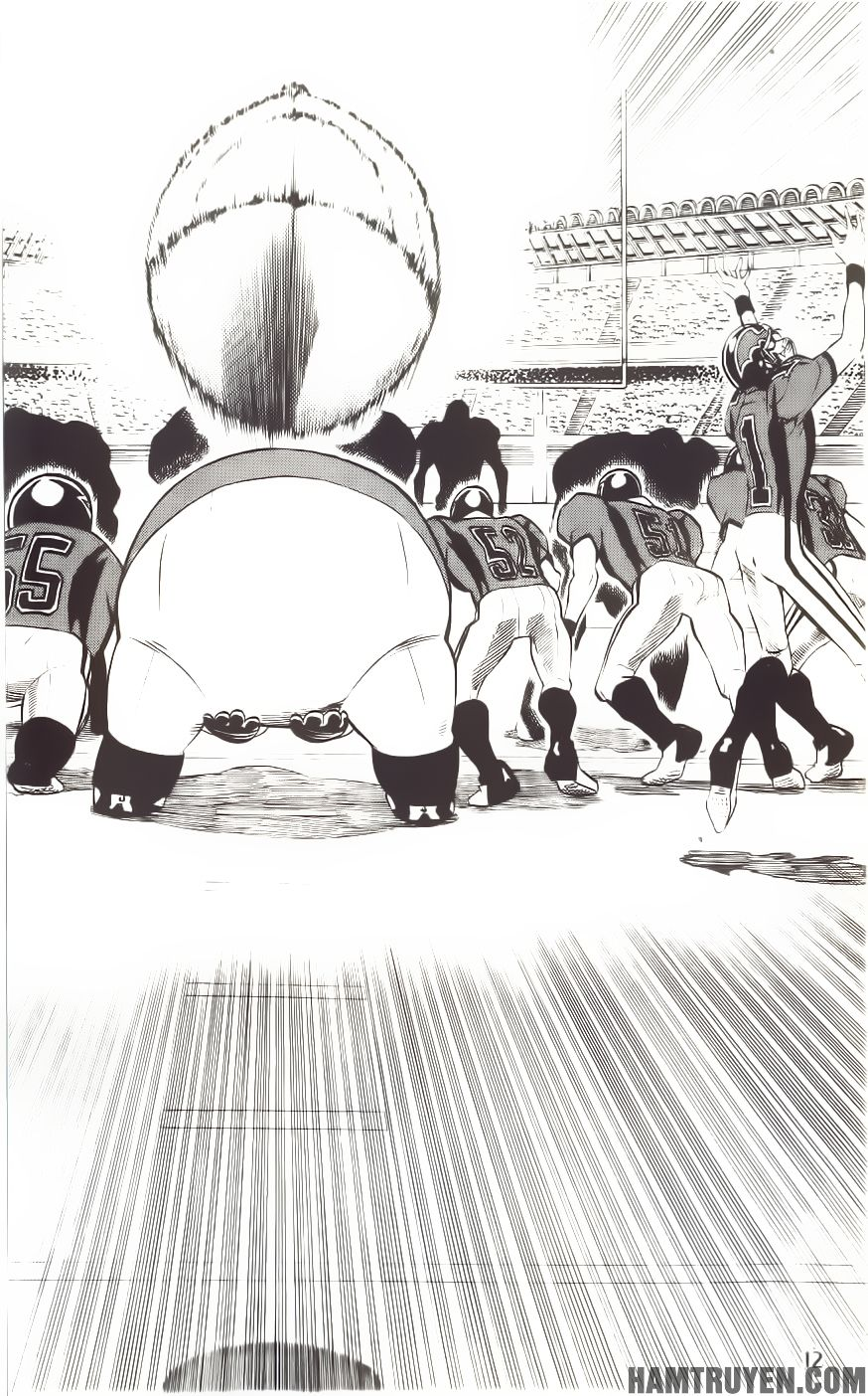 Eyeshield 21 chapter 197 trang 6