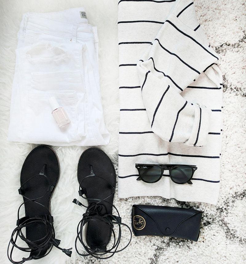 rayban sunglasses madewell boardwalk sandals