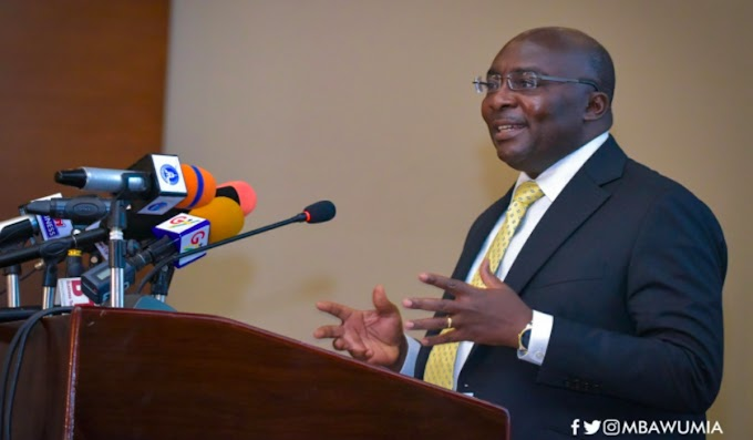 Domestic Resource Mobilisation Key To Ghana Beyond Aid – Vice President Bawumia