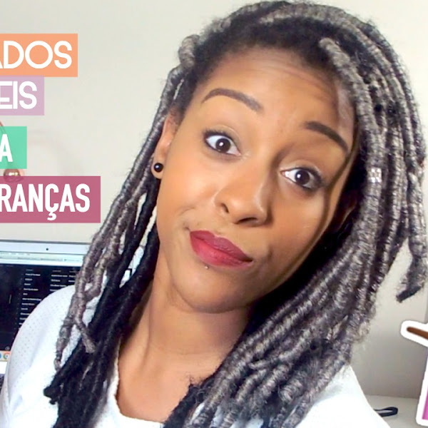 TOP 5 PENTEADOS PARA RASTAS/TRANÇAS