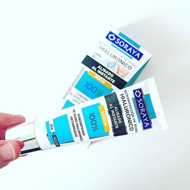 Concentrado de ácido hialurónico antiarrugas de la firma Soraya de venta en Primor