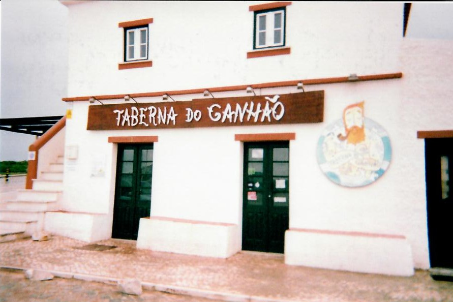 surfing break in baleal portugal taberna do ganhao