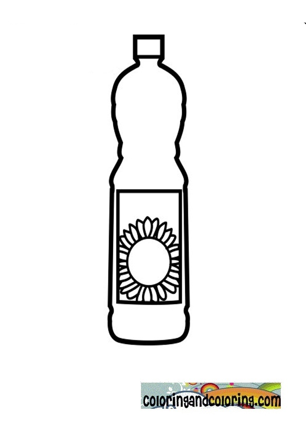 vegetable oil coloring pages sunflower oil coloring