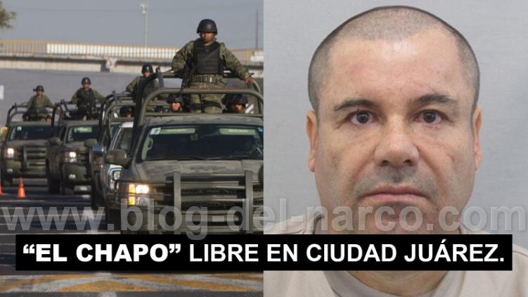 """Aseguran Haber visto a """"El Chapo"""" Guzmán cenando en un Restaurante de CD Juarez"""