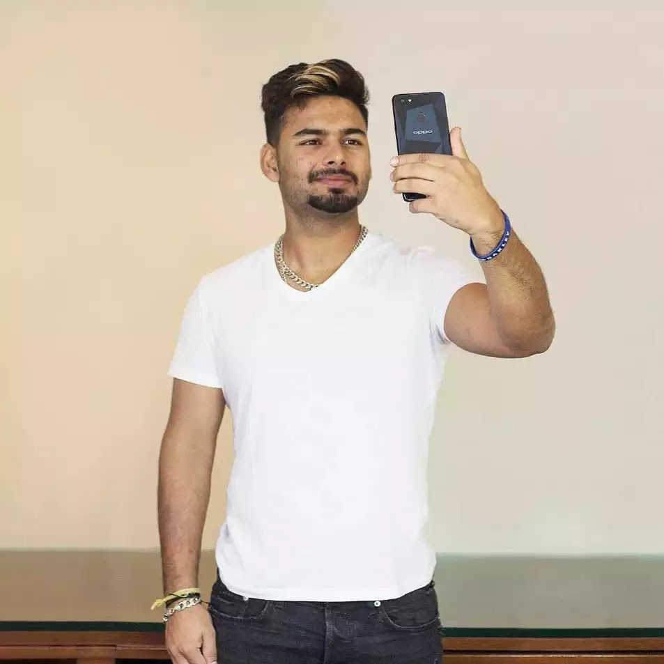 Rishabh Pant Hairstyle Photos - Hairstyle Guides