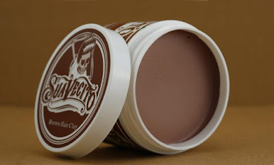 Pomade Suavecito Color Wax Clay Pomade Color - BROWN (Coklat)